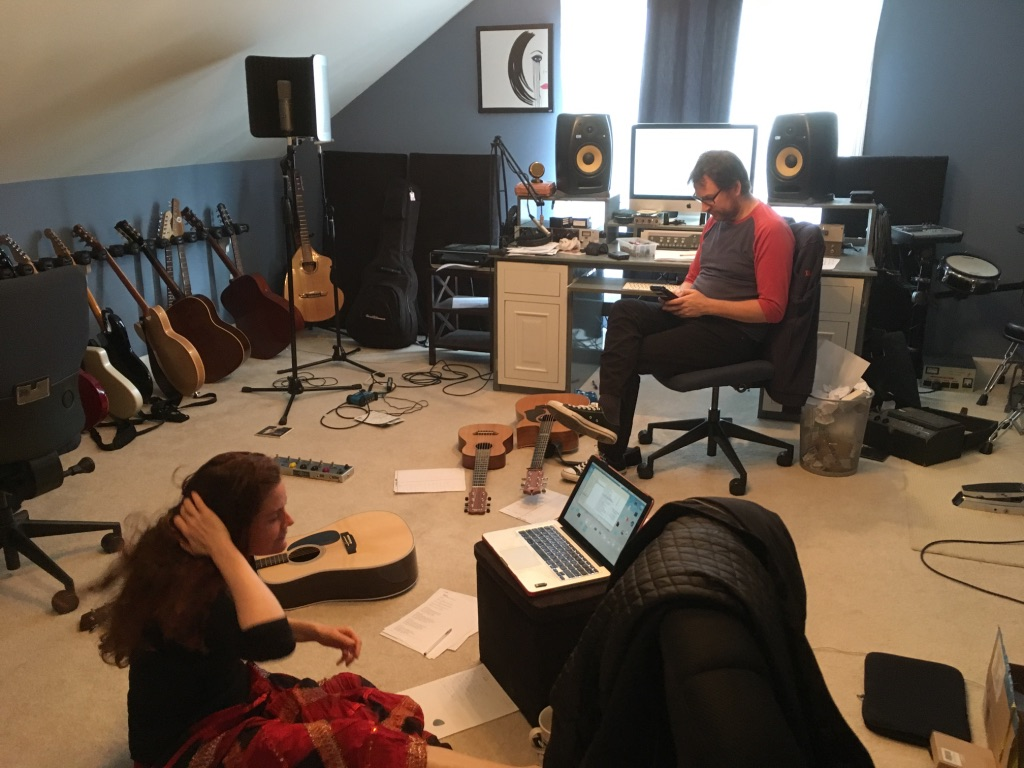 Pre Production with Sam in Nashville